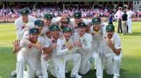 Australia's Ashes Team